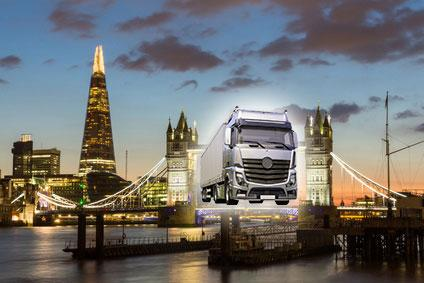HGV's to be banned from London?